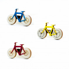 Brosa Lemn Bicicleta