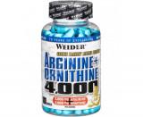 WEIDER Arginina + Ornitina 4.000, 180 capsule
