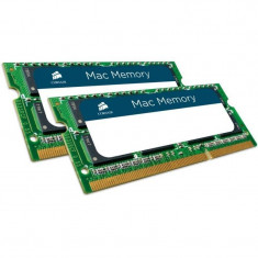 Memorie laptop Corsair Mac 16GB DDR3 1600 MHz CL11 Dual Channel Kit pentru Apple