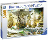 Puzzle Batalie Corabii, 5000 Piese, Ravensburger
