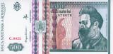 ROMANIA 500 LEI 1992 A-UNC - FIFIGRAN PROFIL