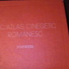 MIC ATLAS CINEGETIC ROMANESC-MAMIFERE-DR. LUCIAN MANOLACHE-DR. GABRIELA DISESCU-