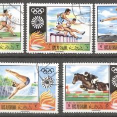 Ras Al Khaima 1970 Sport, Olympics, used AS.041