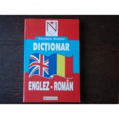DICTIONAR ENGLEZ ROMAN - GEORGETA NICHIFOR