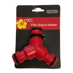 Adaptor furtun plastic 3 cai G7201