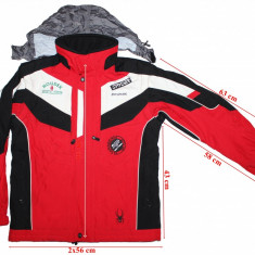 Geaca vesta schi Spyder, XT, Thinsulate, waterproof, breathable, copii, 176 cm
