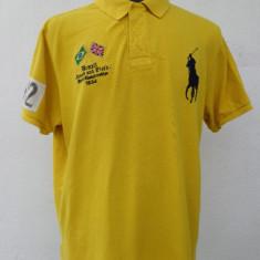 Tricou galben Polo by Ralph Lauren