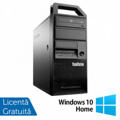 Workstation Lenovo ThinkStation E31 Tower, Intel Core i5-3550 3.30GHz-3.70GHz, 8GB DDR3, 180GB SSD, nVidia Quadro NVS310/512MB, DVD-ROM + Windows 10 H