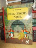 HERGE - KONIG OTTOKARS ZEPTER ( TINTIN IN GERMANA , BENZI DESENATE ) , 1996