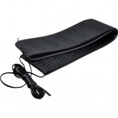 Husa neagra pentru volan cu snur 41-43cm, Automax