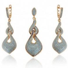 Set bijuterii Anebris Glamour Turcoaz