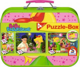 Cumpara ieftin Puzzle 4 in 1 Bibi Blockserg, 2 x 60, 2 x 100 piese, Schmidt