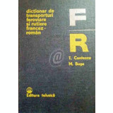 Dictionar de transporturi feoviare si rutiere francez-roman