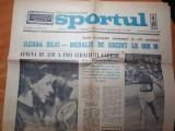 Sportul 20 octombrie 1968-lia manoliu medalia de aur la jocurile olimpice mexic