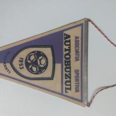 Fanion vechi de colectie Asociatia Sportiva Autobuzul Bucuresti comunism RPR