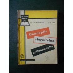 D. ALESSANDRESCU - CONCEPTIA, STERILITATEA, ANTICONCEPTIA