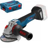 Polizor unghiular cu acumulator Bosch GWS 18V-10 SC 9000 RPM 1000W 150 mm Albastru
