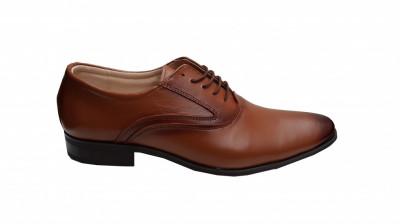 Pantofi eleganti din piele naturala - 888M foto