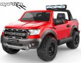 Masinuta electrica cu scaun de piele Ford Ranger Raptor Red
