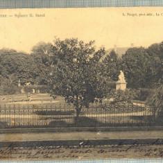 AD 399 C. P. VECHE -LA CHATRE-SQUARE-CIRC.1904-CATRE MADAME K. CEOHARI-BUCURESTI