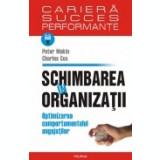 Schimbarea in organizatii