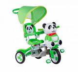 Tricicleta Baby Mix Panda verde