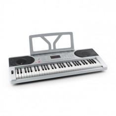 SCHUBERT Etude 300 Orga cu 61 taste 300 sunete 300 ritmuri , 50 de melodii demo, argintie foto