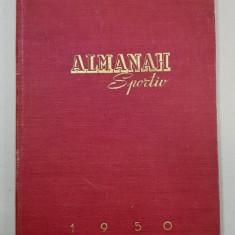 ALMANAH SPORTIV, 1950