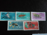 Serie timbre fauna animale nestampilate Germania DDR timbre filatelice postale