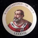 Italia Medalie Argint 925 marcat - Papa Constantinus, Europa