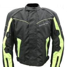 Geaca Moto Textil kalifornia king cu protectii culoare Negru/Verde marimea L Cod Produs: MX_NEW MX6539
