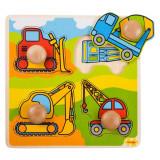 Primul meu puzzle - Santierul de constructii, Bigjigs