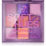 W7 Cosmetics Soft Hues paleta farduri de ochi
