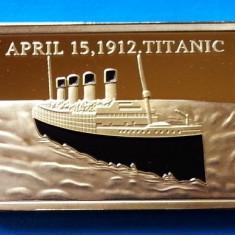 Lingou Auriu Titanic 1912 UNC