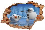 "Sticker ""Wall Crack"" Frozen 7 - 120 x 80 cm"