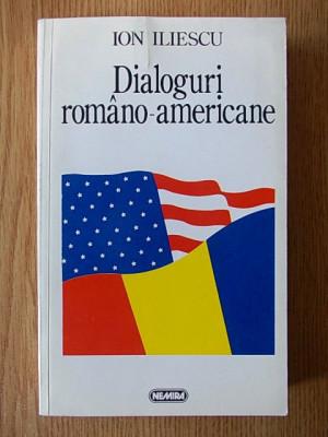 ION ILIESCU- DIALOGURI ROMANO-AMERICANE, r4b foto