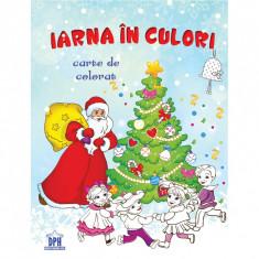 Iarna In Culori (Carte de Colorat)