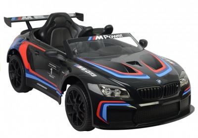 Masinuta electrica BMW M6 GT3, negru foto