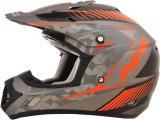 Casca Cross/ATV Copii AFX FX-17YE Factor culoare gri mat portocaliu-mat marime S Cod Produs: MX_NEW 01111050PE