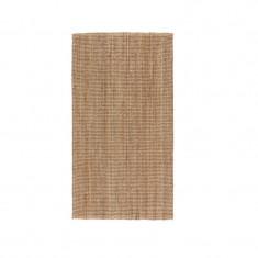 Covor iuta cu tesatura plata, 150 x 80 cm, portocaliu