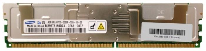 Memorii Server DDR2 FBDIMM Samsung 4GB PC2-5300F ECC, REG