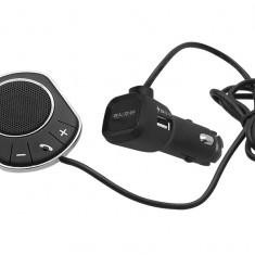 Car Kit Bluetooth Auto Handsfree pentru Telefon cu Microfon si Difuzor Incorporat, Conectare la Bricheta