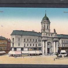 ARAD   PALATUL  MINORITATILOR  1916  POSTA  GERMANA  K.U.K.BRIEFZENSUR  CENZURA, Circulata, Printata