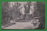 Carte postala Targu Jiu Gradina Publica, Circulata, Printata