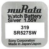 Baterie de ceas Murata 319 SR527SW SR64 1.55V 1 Bucata /Set