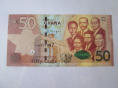 Rara! Ghana 50 Cedis 2015 foto