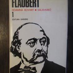 GUSTAVE FLAUBERT -DOAMNA BOVARY.SALAMMBO