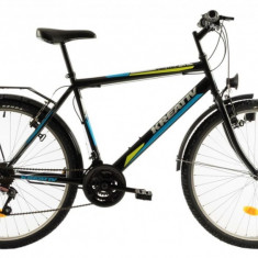 Bicicleta Oras Kreativ 2613 Negru Albastru M 26 inch