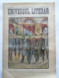 Ziarul Universul Literar,nr. 12, 25 martie 1902 ,Regele Carol I, cromolitografie