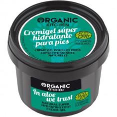 In Aloe we Trust Crema pentru picioare gel hidratant 100 ml